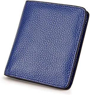 Women's Blocking Leather WalletFemale Portomonee Small Coin Purse Quality Slim Pocket Wallet Card Holder