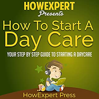 How to Start a Daycare audiobook cover art