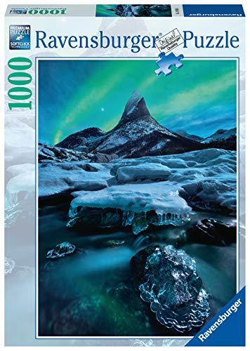 Ravensburger Puzzle, Puzzle 1000 Piezas, Stetind - Noruega del Norte, Puzzles para Adultos, Puzzle Paisajes, Rompecabezas Ravensburger de Alta Calidad