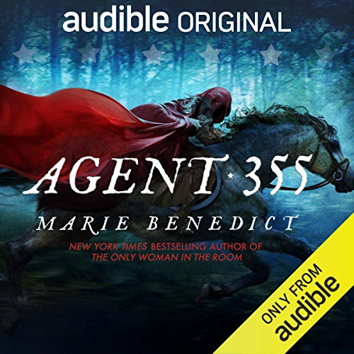 Agent 355 audiobook cover art