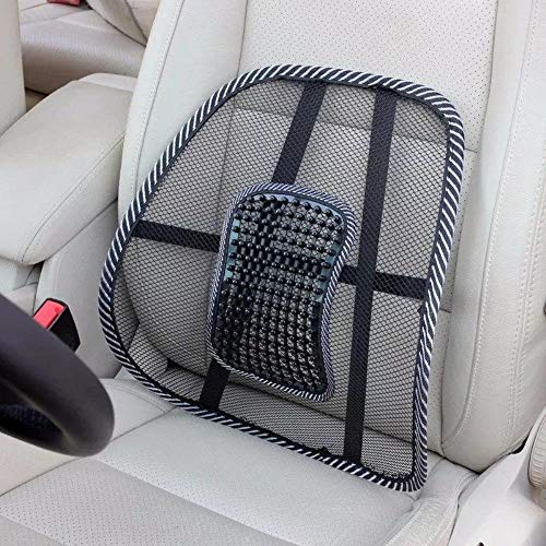 ANUBHA Car Seat Chair Back Rest Lumbar Support