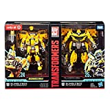 Transformers Studio Series 24 and 25 Deluxe Class Bumblebee 2-pack Including 1967 Volkswagen Beetle Bumblebee Movie Version and 2016 Chevrolet Camaro The Last Knight Movie Version
