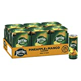 Perrier Fusions, Pineapple and Mango Flavor, 8.45 Fl Oz. Cans (24 Count)