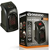 Image of SFM Daewoo Compact 400W Plug-In Digital Electric winter Heater Wall Socket Instant Heat New
