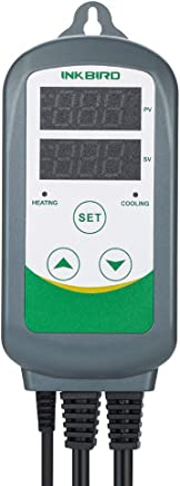 INKBIRD ITC Thermostat Pre-Wired Dual Stage Digital Temperature Controller