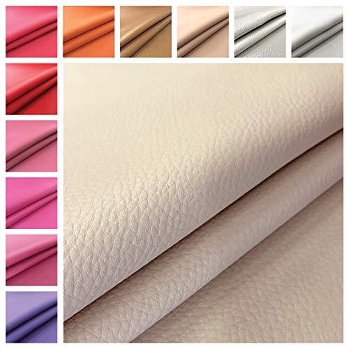 Panini Tessuti - Suave tejido de piel ecológica - Se vende por metros, 1 unidad = 50 cm; 2 unidades = 100 cm - Ideal para decoración de sofás, sillas, bolsos