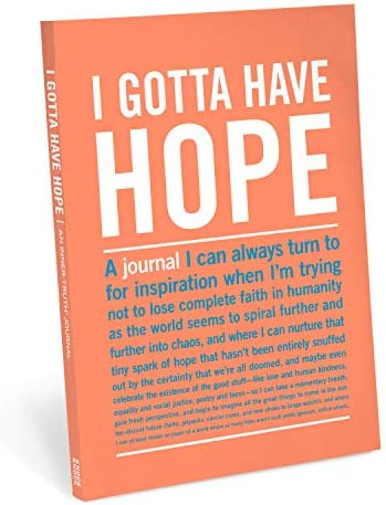 Knock Knock I Gotta Have Hope Inner Truth Journal Large 7 x 9 5 inches product image