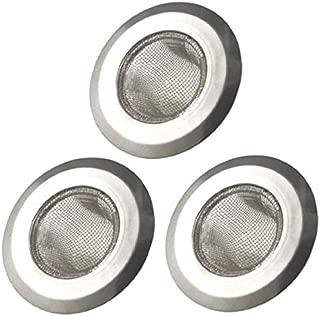 Arology 3 PCS Kitchen Sink Strainer - Stainless Steel Mesh, Large Wide Rim 4.5