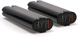 PowerGiant 9.6V 1.3Ah NiCd Replacement Battery for Makita 9000 9002 9033, 6095D 6012HD 6096D 6093D DA391D 5090D 4390D 5090D 8402VD ML902 (2-Pack)