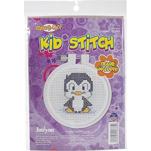 Janlynn Kid Stitch 11 Count Penguin…