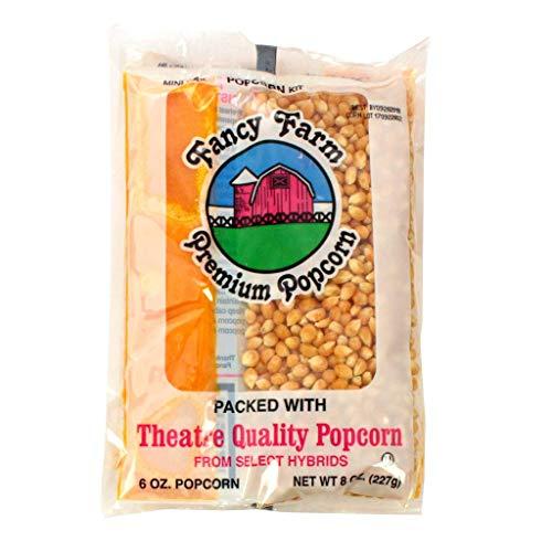 For Sale! Fancy Farms Popcorn Mini-Max Kit - 8 oz. kit, 36 per case
