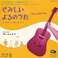 Mr. ふぉるて「さみしいよるのうた」の歌詞を収録したCDジャケット画像