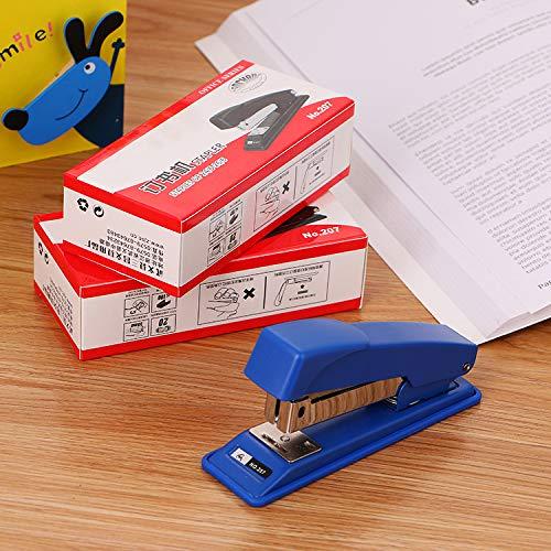 3Pcs Hefter Qualität Langlebig Bürobedarf Bindung Maschine Lernen Briefpapier 207 Hefter
