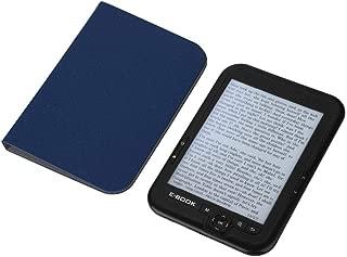 電子書籍リーダー Acouto 6インチ E-BOOKリーダー E-Ink 電子リーダー 800x600解像度 ディスプレイ 300DPI 16GB 8GB 4GBオプション 可読性 柔軟性 低消費電力(ブラック16G)