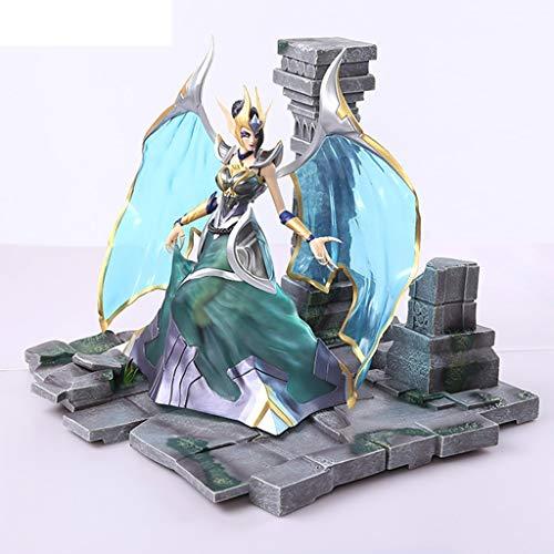 Zhangmeiren League of Legends Fallen Angels Modelo de Anime/Anime Juego de Dibujos Animados Modelo de Personaje Estatua/Recuerdo/Colección/Artesanía