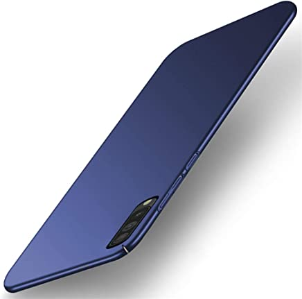 TheGiftKart Ultra Slim 360* Matte Velvet Feel Hard Back Case Cover with Camera Protection Bump for Samsung Galaxy A50 (Blue)