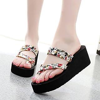 Donyyyy Antideslizante zapatillas, zapatillas de tacón, zapatillas y zapatillas resistentes al desgaste.