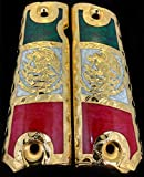 Blanca's Jewelry 1911 Government Grips Eagle Escudo Nacional de Mexico Cachas