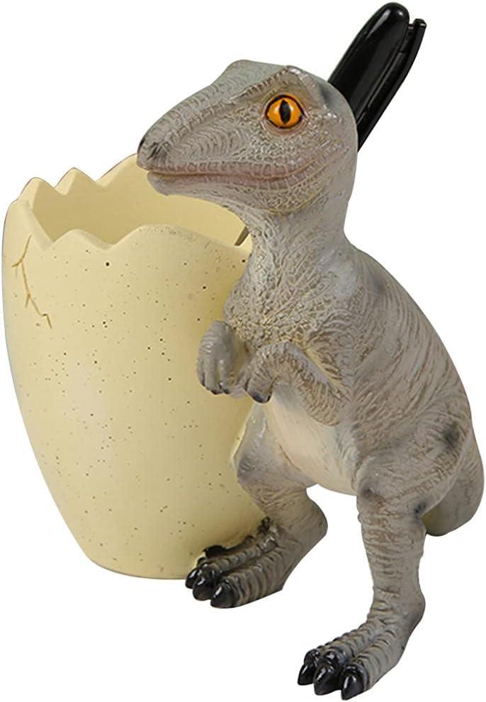 Creative cartoon cute dinosaur Choice pen holder animal-shaped desktop Same day shipping