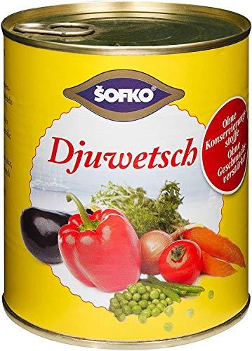 sofko - Djuwetsch gedünstetes Mischgemüse - 800g