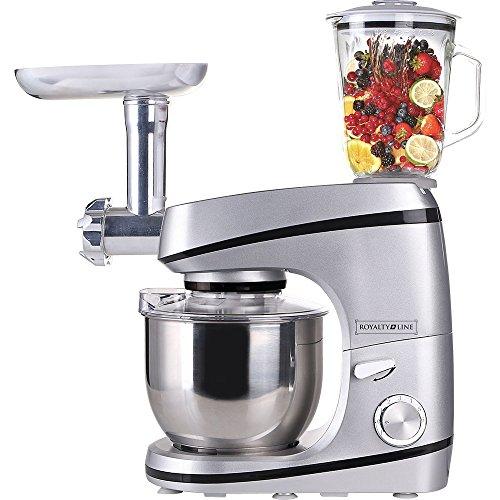 Classic Line Robot de cocina y Licuadora y batidora amasadora plateado
