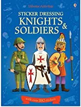 Knights & Soldiers Bind Up (Usborne Sticker Dressing) (Paperback) - Common