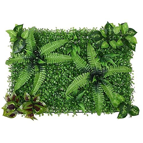 GPWDSN Pantalla de Valla de privacidad de Hiedra Artificial, brotes de Flores Paneles de Cobertura de Hojas Seto de Madera Retractable Enrejado Valla de protección Rollo Decoración de Jar