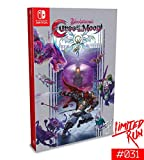 "Switch Limited Run #31: Bloodstained: Curse of the Moon sealed in a standard Nintendo Switch case with interior art and full-color manual Reversible 18"" X 24"" Poster Physical CD soundtrack Retro NES style outer box with metallic silver ink and spot g..."