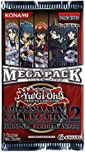 YuGiOh GX Legendary Collection 2 Mega Booster Packs 9 Cards