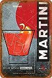 XREE Martini Blechschild Poster Wanddekoration Retro