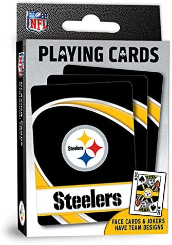 MasterPieces NFL Pittsburgh Steelers Playing Cards 2 5 x 3 5 product image