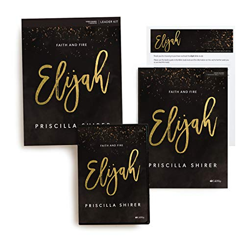 Compare Textbook Prices for Elijah - Leader Kit: Faith and Fire  ISBN 0634337986098 by Shirer, Priscilla
