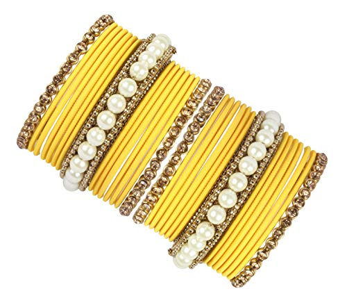 Shiv-Collection Indian Bangles Bracelet Set Bollywood Jewelry Bangles Ethnic Wear Traditional Jewellery (2.6)