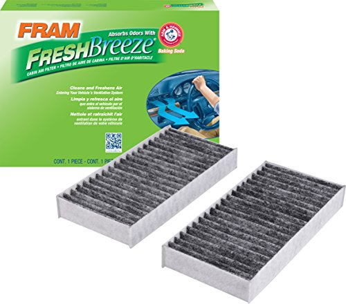 FRAM Fresh Breeze Cabin Air Filter with Arm & Hammer Baking Soda, CF11777 for Select Jeep Vehicles