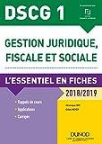 DSCG 1 - L'essentiel en fiches - Format Kindle - 9782100782468 - 9,99 €