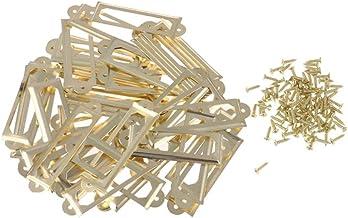 50 metalen labelhouder ambachtelijke lade kast meubels label frame trekgreep retro sieraden doos decoratieve tags trekt me...