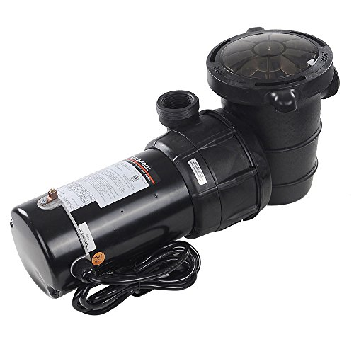 Yescom 1.5 HP Above Ground Swimming Pool Spa Water Pump Outdoor Strainer Max. Flow 4980GPH Motor w/ETL CSA Certificate