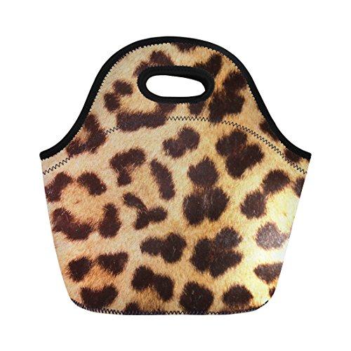Sac isotherme réutilisable pour l'école Taille M léopard