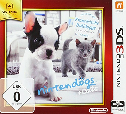 Nintendogs + cats Französische Bulldoge - Nintendo Selects - [3DS]
