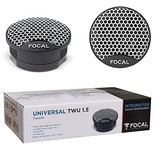 2 tweeters Compatible avec Focal TWU1.5 TWU 1.5 de 5,00 cm 50 mm 2