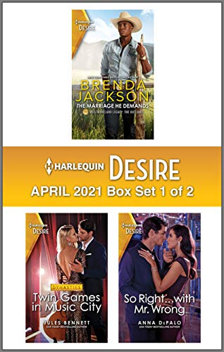 Harlequin Desire April 2021 - Box 1 of 2 (English Edition)