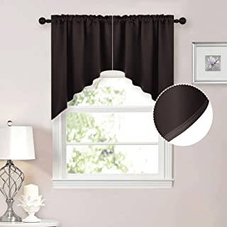 Best brown swag curtains Reviews