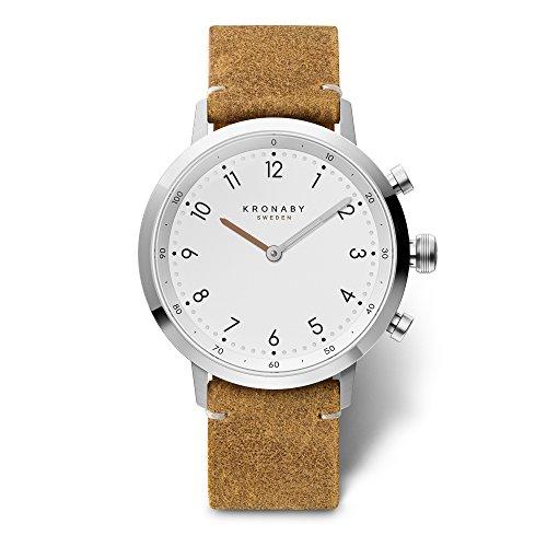 KRONABY SEKEL Connected Movement Unisex horloge A1000-3128 horloge dames/heren een traditionele horloge met de mogelijkheden van een smartwatch