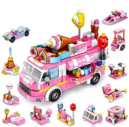 Girls Building Blocks Toys 553 P...