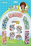 Perler Beads Rainbow Unicorn Fuse Bead Kit, 2000pcs, 7 Projects