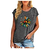Misses Tops and Blouses Inexpensive Shirts for Women Womens Outfit American Flag Tops for Women Cute Baseball Tees for Women Black Blouses for Women Funny T Shorts for Tops and Blouses