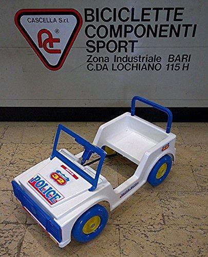 Biemme Auto a pedali Geppina Police Bambino 1-3 anni Cod. 1209