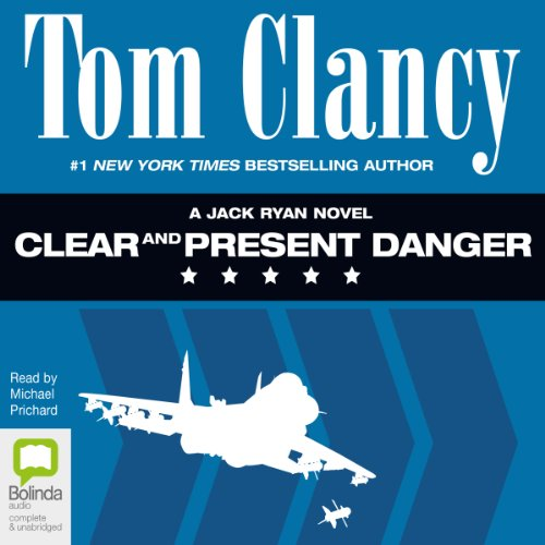 Clear and Present Danger     Jack Ryan              By:                                                                                                                                 Tom Clancy                               Narrated by:                                                                                                                                 Michael Prichard                      Length: 30 hrs and 7 mins     73 ratings     Overall 4.8