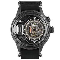 [The Electricianz] 腕時計 ZZ-A1C / 03 ザ・ブラックアウトオリジナルブラックレザーウォッチ [並行輸入品]