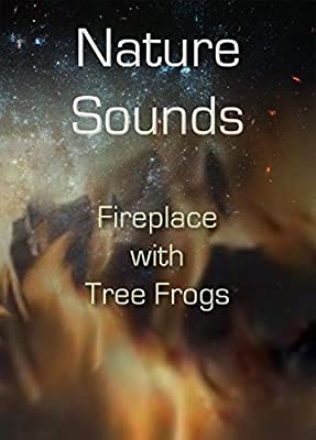 Nature Sounds CD: Fireplace blended with Tree Frogs: Soothing Sounds CD No Music Added